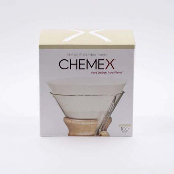 100 Filtros Circulares Chemex BBarista