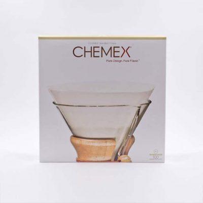 100 Filtros Circulares Sin Doblar Chemex BBarista