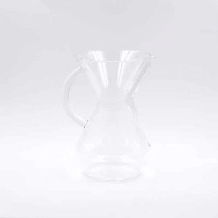 Cafetera de Filtro con Asa de Cristal 6 Tazas Chemex
