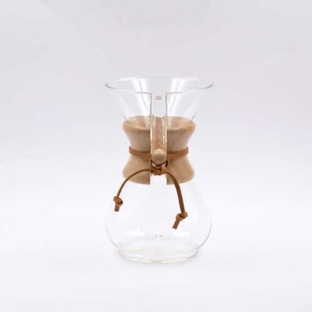 Cafetera de Filtro con Collar de Madera 6 Tazas Chemex BBarista