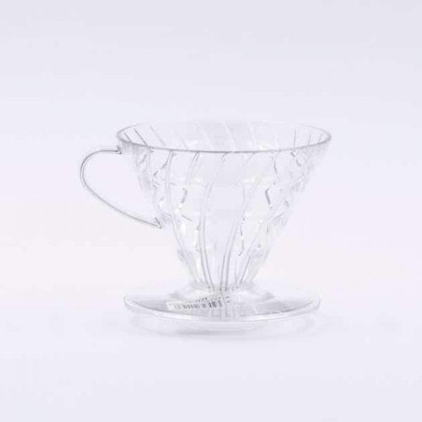 Cono de Goteo Plástico Transparente V60 02 Hario BBarista
