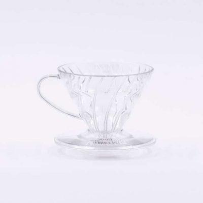 Cono de Goteo Plástico Transparente V60 01 Hario BBarista