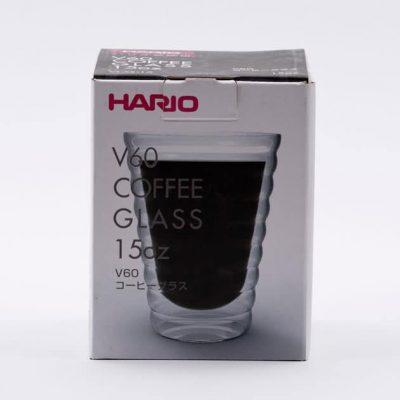 Vaso Cafetero Café Cristal Térmico Grande Doble Pared Hario BBarista
