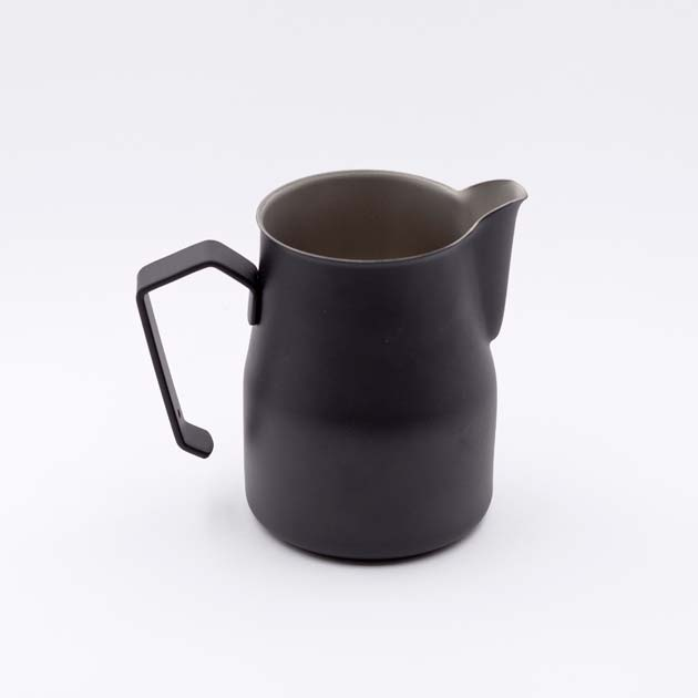 Jarra Latte Art Negra 35cl Motta BBarista