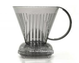 Dripper Coffee Gris Filtro Clever BBarista