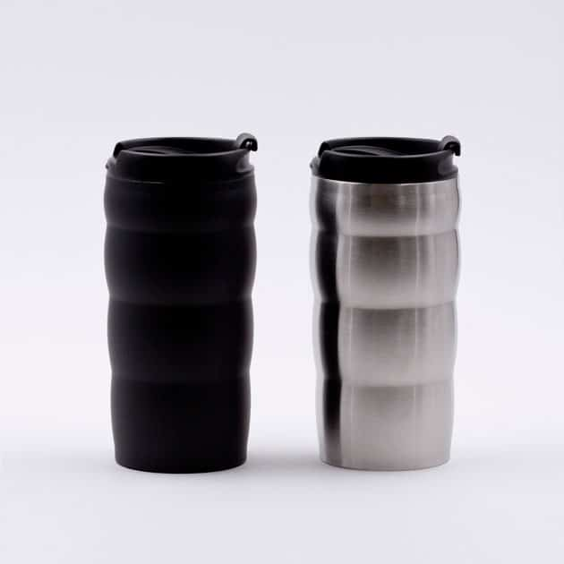 Vaso Mug Cafetero Café para Llevar Térmico con Tapa Negra Hario BBarista