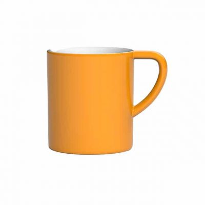 Taza para Café con Leche Amarillo Bond 300ml Loveramics Yellow BBarista