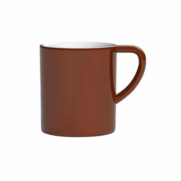 Taza para Café con Leche Marrón Bond 300ml Loveramics Brown BBarista