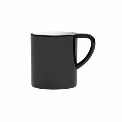Taza para Café con Leche Negro Bond 300ml Loveramics Black BBarista