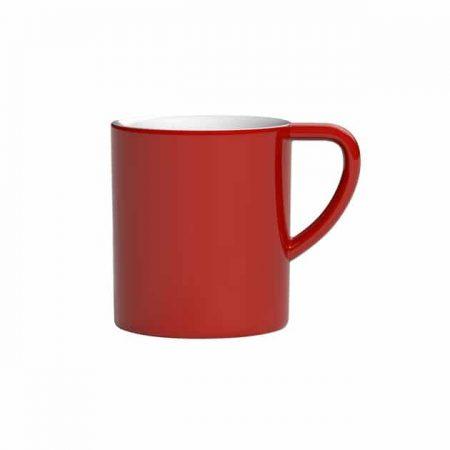 Taza para Café con Leche Negro Bond 300ml Loveramics Red BBarista