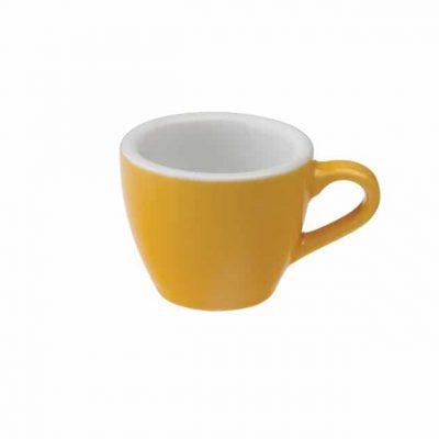 Taza para Café Espresso Amarilla Egg 80ml Loveramics Yellow BBarista