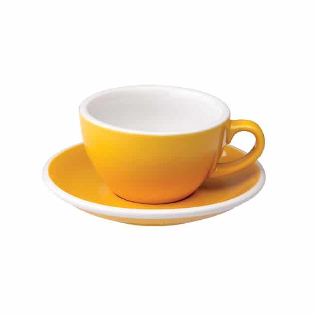 Taza para Capuccino Amarilla 200ml Loveramics BBarista