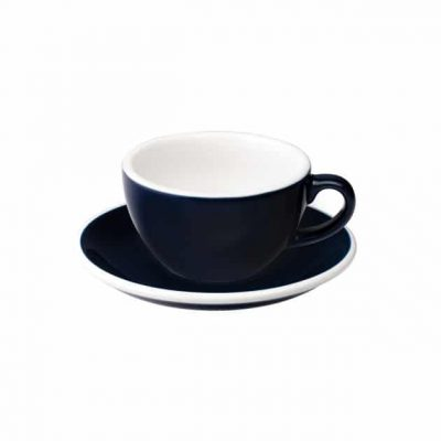 Taza para Capuccino Azul 200ml Loveramics BBarista