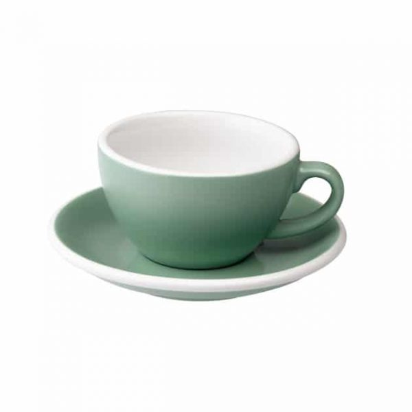 Taza para Capuccino Verde Menta 200ml Loveramics BBarista