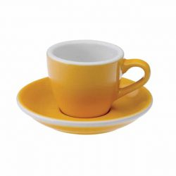 Taza para Café Espresso Amarilla Egg 80ml Loveramics Yellow BBarista