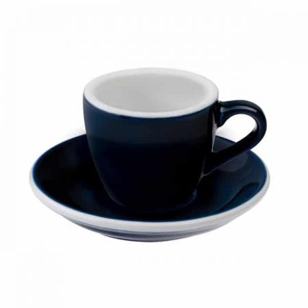 Taza para Café Espresso Azul Egg 80ml Loveramics Denim BBarista