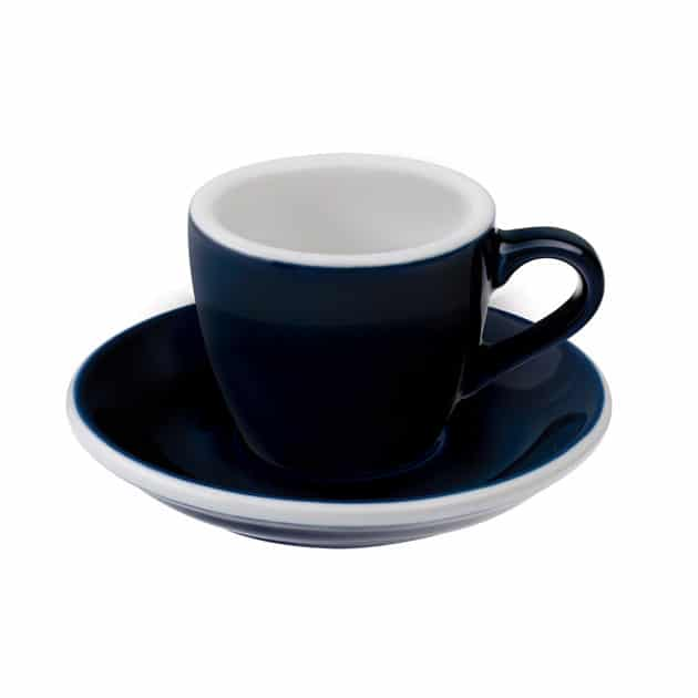 Taza para Café Espresso Azul Egg 80ml Loveramics Denim BBarista