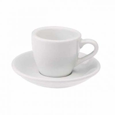 Taza para Café Espresso Blanca Egg 80ml Loveramics White BBarista