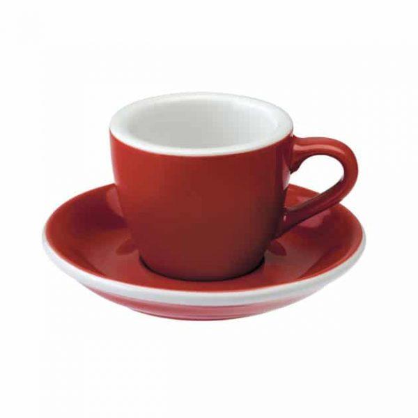 Taza para Café Espresso Roja BBarista