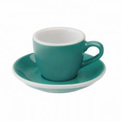 Taza para Café Espresso Turquesa Egg 80ml Loveramics Teal BBarista