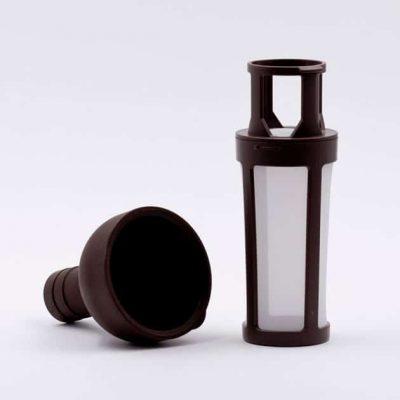 Botella Vidrio Cristal con Filtro Reutilizable Hario BBarista