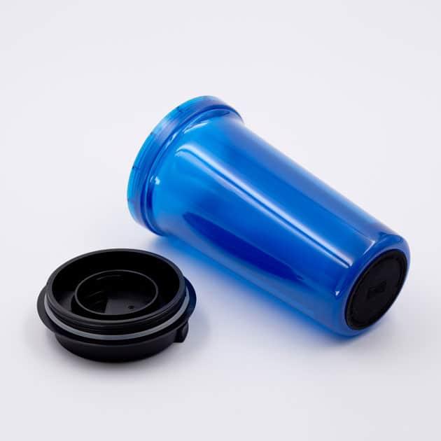 Mug Térmico para Café Azul Doble Pared Rivers Bbarista