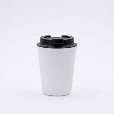 Vaso Térmico para Café Blanco 350ml Rivers BBarista