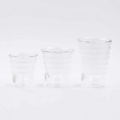 Vaso de Cristal Doble Pared 300ml Hario Bbarista