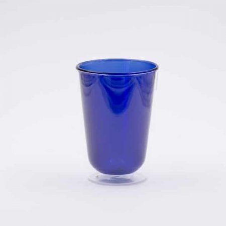 Vaso de Cristal Azul 350ml Rivers Bbarista