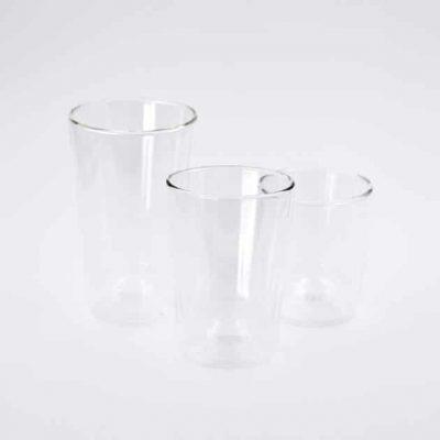 Vaso de Cristal Transparente 500ml Rivers Bbarista