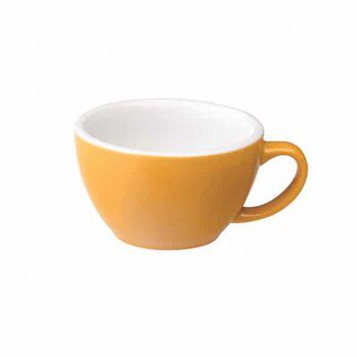 Taza para Café Latte Amarilla Loveramics BBarista