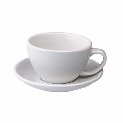 Taza para Café Latte Blanca Loveramics BBarista