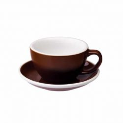 Taza para Café Latte Marrón 300ml Loveramics BBarista