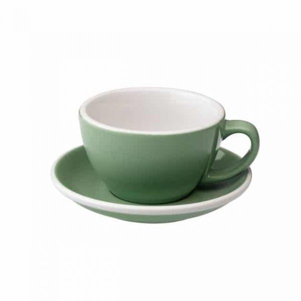 Taza para Café Latte Verde Menta Loveramics BBarista