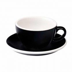 Taza para Café Flat White Negra 150ml Loveramics BBarista