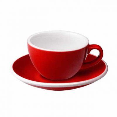 Taza para Café Flat White Roja 150ml Loveramics BBarista