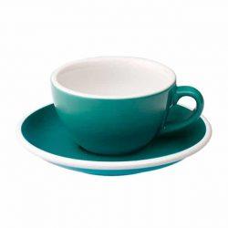 Taza para Café Flat White Turquesa 150ml Loveramics BBarista