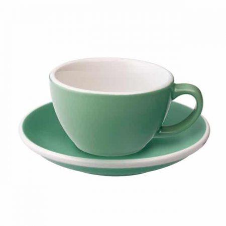 Taza para Café Flat White Verde Menta 150ml Loveramics BBarista