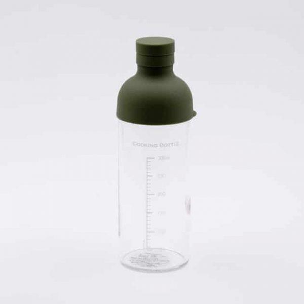 Botella Pequeña con Medidor Verde Hario BBarista