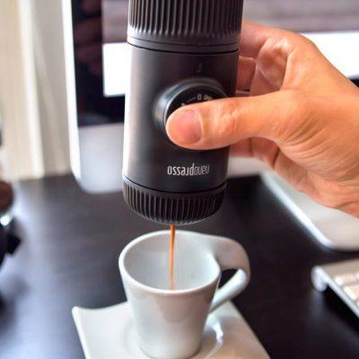 Cafetera Portátil Cafe Espresso Wacaco Nanopresso Pequeña BBarista